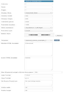 Display parameters