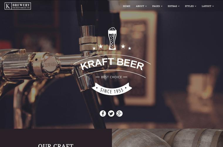 Joomla Template Kraft by JoomlaXTC